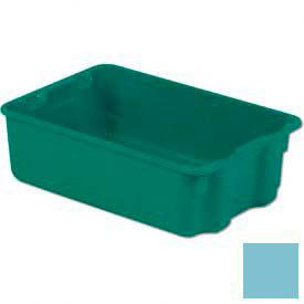 LEWISBins Plexton® SN1812-6 Fiberglass Stack-N-Nest Container, 19-13/16 x 12-13/16 x 6, Blue - Pkg Qty 10