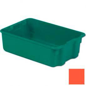 LEWISBins Plexton® SN1812-6 Fiberglass Stack-N-Nest Container, 19-13/16 x 12-13/16  x  6, Red - Pkg Qty 10