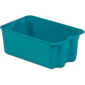 LEWISBins Plexton® SN1812-8 Fiberglass Stack-N-Nest Container, 20-5/8 x 13 x 8, Green - Pkg Qty 5
