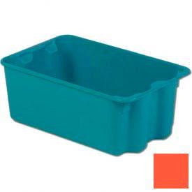 LEWISBins Plexton® SN1812-8 Fiberglass Stack-N-Nest Container, 20-5/8 x 13 x 8, Red - Pkg Qty 5