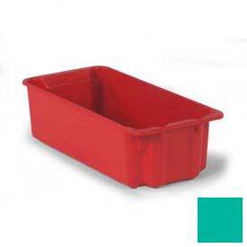 LEWISBins Plexton® SN2010-7 Fiberglass Stack-N-Nest Container 24-1/8 x 11-13/32 x 6-29/32 Green - Pkg Qty 5