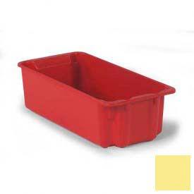 LEWISBins Plexton® SN2010-7 Fiberglass Stack-N-Nest Container 24-1/8 x 11-13/32 x 6-29/32Yellow - Pkg Qty 5