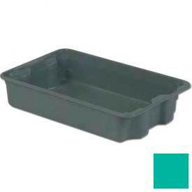 LEWISBins Plexton® SN2214-5 Fiberglass Stack-N-Nest Container 24-5/16 x 14-13/16 x 5-1/8 Green - Pkg Qty 4