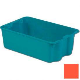 LEWISBins Plexton® SN2214-8 Fiberglass Stack-N-Nest Container, 24-5/16 x 14-13/16 x 8, Red - Pkg Qty 4