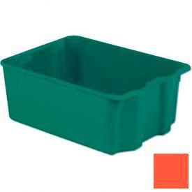 LEWISBins Plexton® SN2217-10 Fiberglass Stack-N-Nest Container, 25-5/16 x 18-1/8 x 10-1/8 Red - Pkg Qty 2