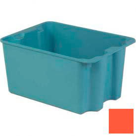 LEWISBins Plexton® SN2419-14 Fiberglass Stack-N-Nest Container 27-1/2 x 19-29/32 x 14-1/8 Red - Pkg Qty 2