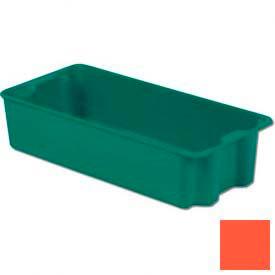 LEWISBins Plexton® SN2713-7 Fiberglass Stack-N-Nest Container, 29-5/8  x  13-13/16  x  7, Red - Pkg Qty 5