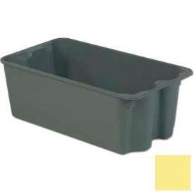 LEWISBins Plexton® SN2716-11 Fiberglass Stack-N-Nest Container 30-5/8 x 16-29/32 x 11-1/8Yellow - Pkg Qty 5