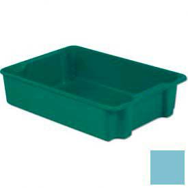 LEWISBins Plexton® SN3023-8 Fiberglass Stack-N-Nest Container, 34-1/8  x  24  x  8-1/8, Blue - Pkg Qty 3
