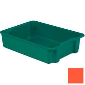 LEWISBins Plexton® SN3023-8 Fiberglass Stack-N-Nest Container, 34-1/8  x  24  x  8-1/8, Red - Pkg Qty 5