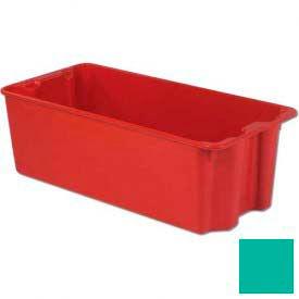 LEWISBins Plexton® SN3919-14 Fiberglass Stack-N-Nest Container, 42-1/2 x 20-1/8 x 14-1/8, Green