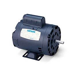 Leeson Motors-3/4HP, 115/208-230V, 3450RPM, Drip Proof, Rigid Mount, 1.25 SF, 70 Eff.