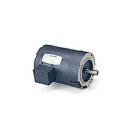 Leeson 100449.00, Standard Eff., 0.5 HP, 3450 RPM, 208-230/460V, 48C, TENV, C-Face Footless