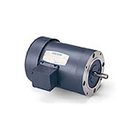 Leeson 101291.00, Standard Eff., 0.33 HP, 1140 RPM, 208-230/460V, 48C, TENV, C-Face Footless