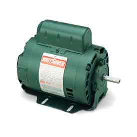 Leeson 101602.00, Standard Eff., 0.25 HP, 1725 RPM, 115V, 48, DP, Resilient Base
