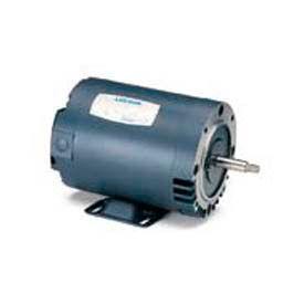 Leeson Motors 3-Phase Pump Motor 1HP, 3450RPM, Nan, DP, 208-230/460V, 60HZ, 40C, 1.15SF, C Face