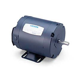 Leeson 101649.00, Standard Eff., 0.25 HP, 1725 RPM, 208-230/460V, S56, TENV, Rigid