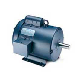 Leeson Single Phase General Purpose Motor 1/4HP, 1725RPM, 56, TENV, 115/208-230V, 60HZ, Auto, Rigid