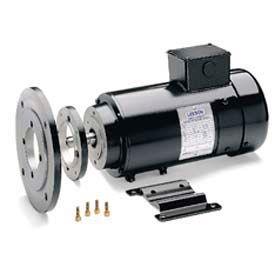 Leeson Motors DC Motor IEC Metric .55KW, 1800RPM, 80D, IP54, 180V, S1, 40C, 1.0SF, Special
