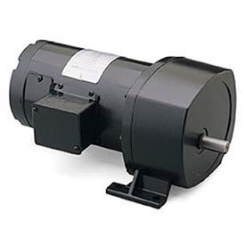Leeson 108712.00, 1/2 HP, 135 RPM, 90VDC, TEFC, P1100, 13:1 Ratio, 210 In-Lbs