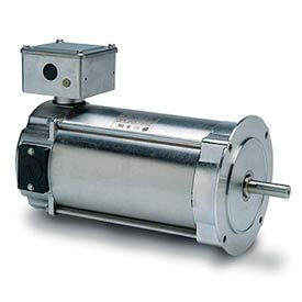 Leeson Motors Washdown DC Motor-0.25KW, 180V, 1750RPM, IP55, Metric