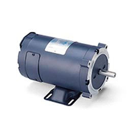 Leeson Motors DC Motor-1.0HP, 48V, 1800RPM, TEFC, Rigid C