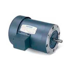 Leeson 3-Phase Motor 1/2HP, 1725RPM, 56, TENV, 575V, 60HZ, Cont, Not, 40C, 1.15SF, C Face