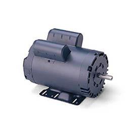 Leeson Motors-2HP, 115/208-230V, 3450RPM, DP, Rigid Mount, 1.15 SF