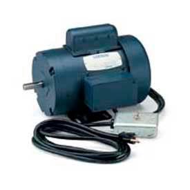 Leeson Motors Single Phase Woodworking Motor 1.5 HP, 3450RPM, 56, TEFC, 115/230V, 60HZ, Manual, 40C