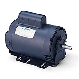 Leeson Motors - 3/4HP, 115V, 1625RPM, DP, Resil Mount, 1.0 S.F.