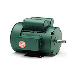 Leeson Motor-1.5HP, 115/208-230V, 1725RPM, TEFC, Rigid Mount, 1.15 SF, 84 Eff.