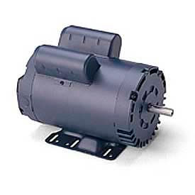 Leeson Motors Single Phase General Purpose Motor 50HZ, 1/2HP, .37KW, 2850RPM, 56, IP22, 110/220V