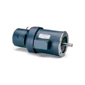 Leeson Motors 3-Phase Brake Motor 1/2HP, 1725RPM, 56, TEFC, 208-230/460V, 60HZ, 40C, 1.15SF, Round