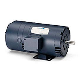 Leeson Motor - 1/2HP, 208-230/460V, 1725RPM, DP, Rigid Mount, 1.25 S.F.