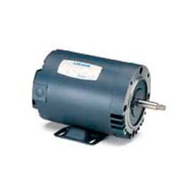 Leeson Motors 3-Phase Pump Motor 3HP, 3450RPM, 56, TEFC, 208-230/460V, 60HZ, 40C, 1.15SF, C Face