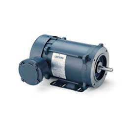Leeson Single Phase Explosion Proof Motor 1/2HP, 3450RPM, 56, EPFC, 60HZ, Automatic, 1.0SF, Rigid