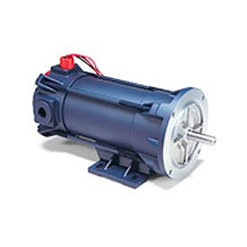 Leeson Motors Explosion Proof DC Motor-.50HP, 180V, 1750RPM, TENV, Rigid C