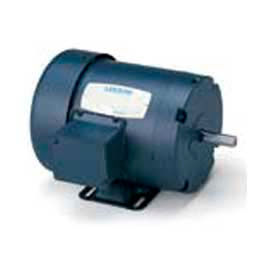 Leeson 121097.00, Standard Eff., 1.5 HP, 2850 RPM, 220/380/440V, 50 Hz, 145T, IP54, Rigid