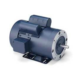 Leeson Single Phase General Purpose Motor 3HP, 3450RPM, 145, TEFC, 230V, 60HZ, 1SF, Rigid C