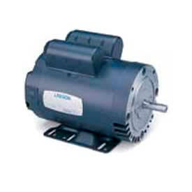 Leeson Single Phase General Purpose Motor 5HP, 1740RPM, 184, TEFC, 208-230V, 60HZ, Manual, Rigid