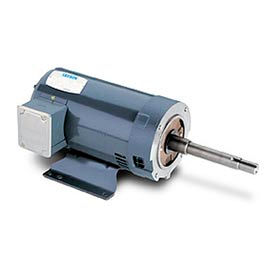 Leeson Motor - 10HP, 208-230/460V, 1760/1450RPM, DP, Rigid C Mount, 1.15 S.F.