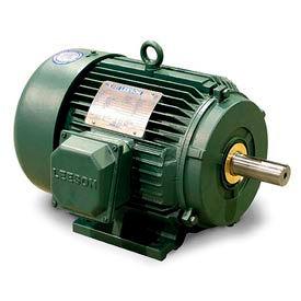 Leeson 171631.60, Premium Eff., 10 HP, 1760 RPM, 208-230/460V, 215T, TEFC, Rigid