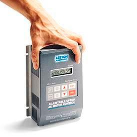 Leeson Motors Nema 1, 1-1/2 HP, 200-240 Volts, Inverter Drive