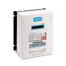 Leeson Motors Nema 4/12, 2 HP, 200-240 Volts, Washdown Inverter Drive Epoxy Coated