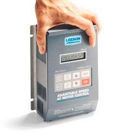 Leeson Motors AC Controls  VFD Drive, NEMA 1, 1PH, 1/2HP, 115/230V