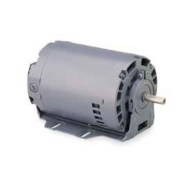 Leeson Motors, .33HP, 1800RPM, 1 PH, 48, Dp, 115/230V, 60HZ, Cont, Auto