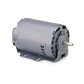 Leeson, Single Phase Motor, 1/2HP, 1800RPM, 48Z, ODP, 115/230V, 60HZ, Cont, Auto