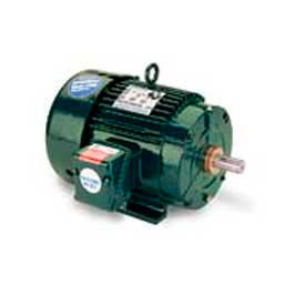 Leeson Motors 3-Phase Severe Duty Motor 5HP, 3505RPM, 184, TEFC, 60HZ, Cont, 40C, 1.15SF