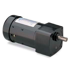 Leeson Motors AC Integral GearMotor PE350, 58:1, 29/24RPM, 270lb.in, 16HP, P42Y, 115/230V, 1PH