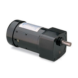 Leeson 096069.00, 1/4 HP, 173 RPM, 208-230/460V, 3-Phase, TEFC, PE350, 10:1 Ratio, 92 In-Lbs